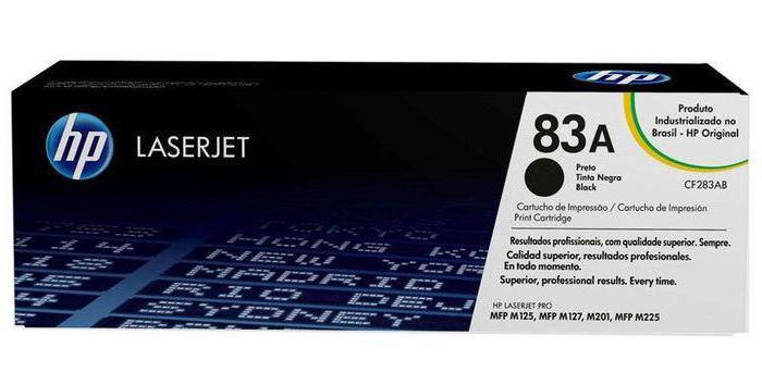 МФУ HP LaserJet Pro M125r отзывы катридж