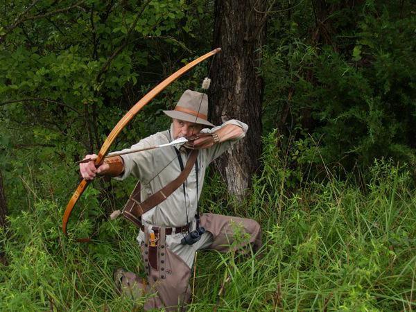 стрельба из лука охота
