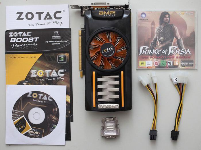 видеокарта GTX 460 характеристики