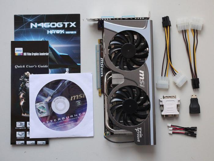 видеокарта GeForce GTX 460 характеристики