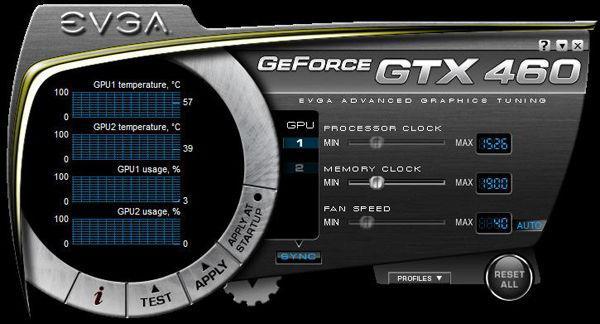 GeForce GTX 460 характеристики