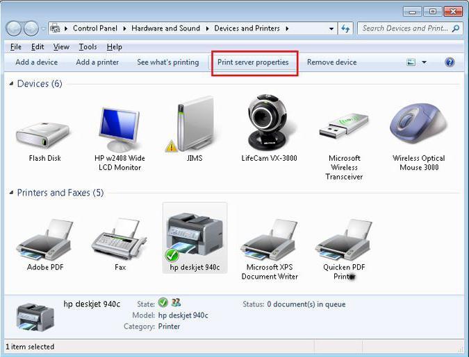 Как сделать принтер через локальную сеть