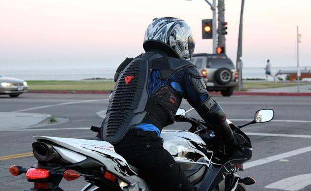 Черепаха для мотоциклиста - необходимый элемент защиты
