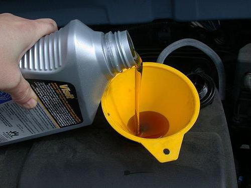 Как залить масло