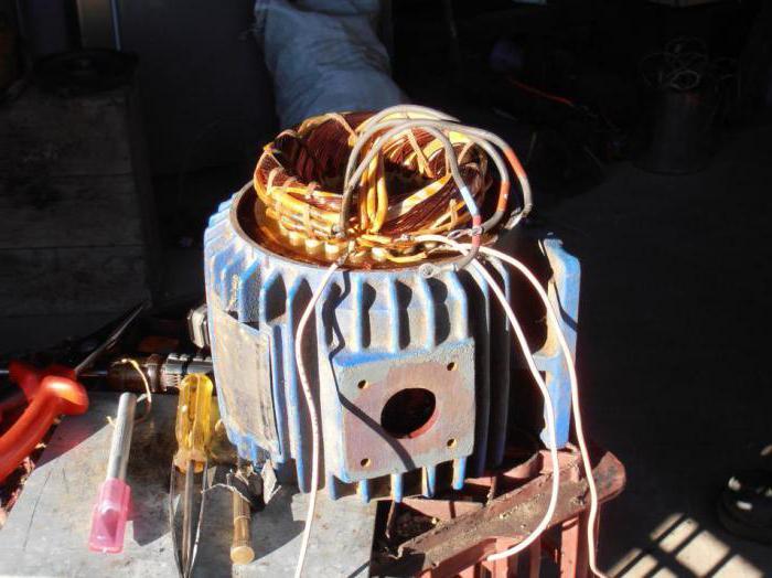 как подключить электродвигатель с 380 на 220 схемы