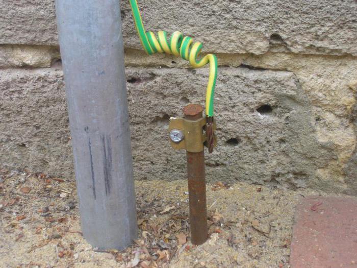 электричество из земли схема