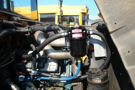 маслоотделитель системы вентиляции картера