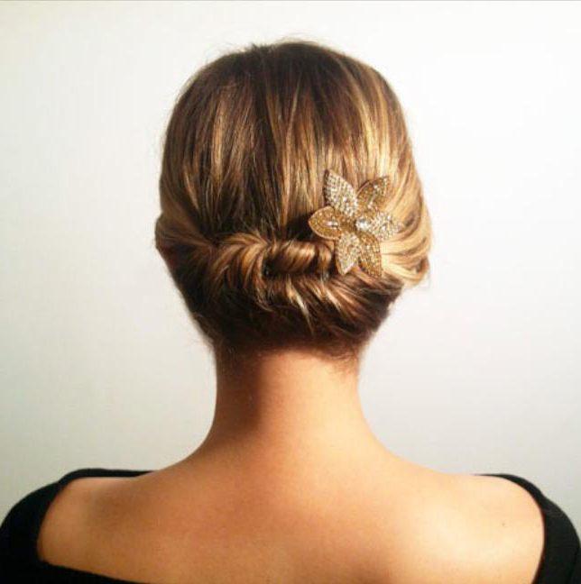 прическа из жгутов на длинные волосы