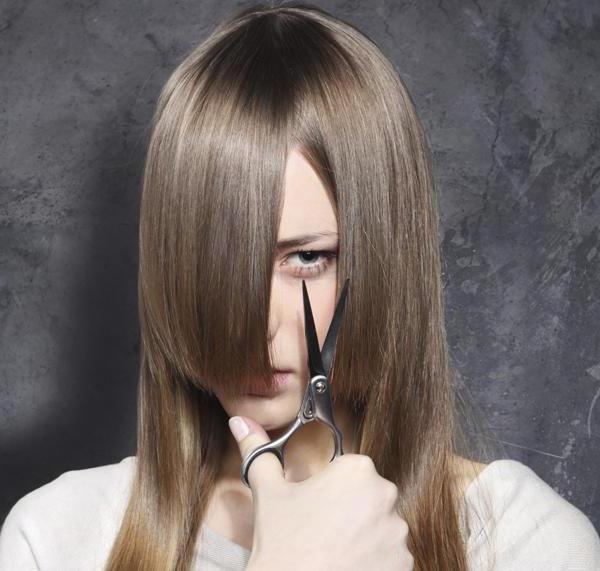 Как можно подстричь длинные волосы не убирая длину фото - 0ac