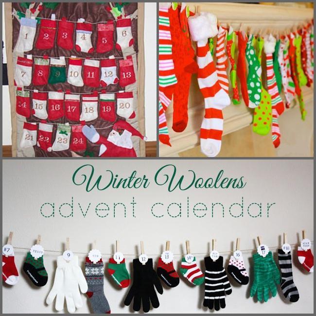 новогодний адвент календарь своими руками