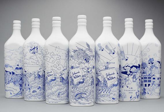 оформление бутылки своими руками