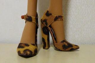 выкройки обуви для кукол с большими ногами