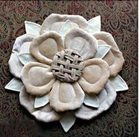 подушка роза своими руками выкройки