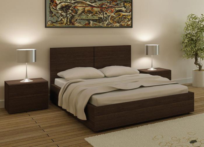 размер двуспальной кровати