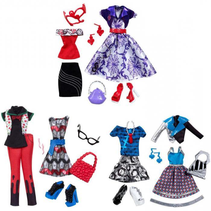 Вещи для кукол Монстер Хай