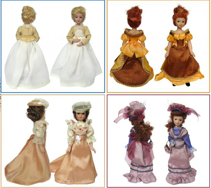 """Коллекция """"ДеАгостини"""": куклы в народных костюмах"""