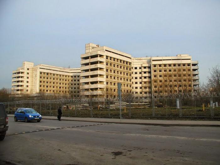 Больница детская на 8 марта
