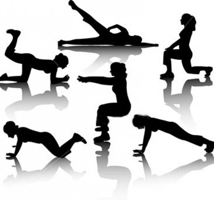 Упражнения лфк