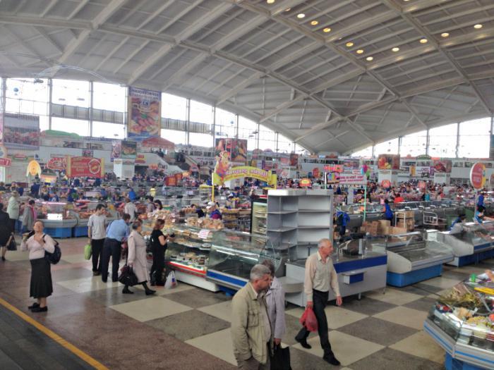 Комаровский рынок в Минске: как добраться, режим работы