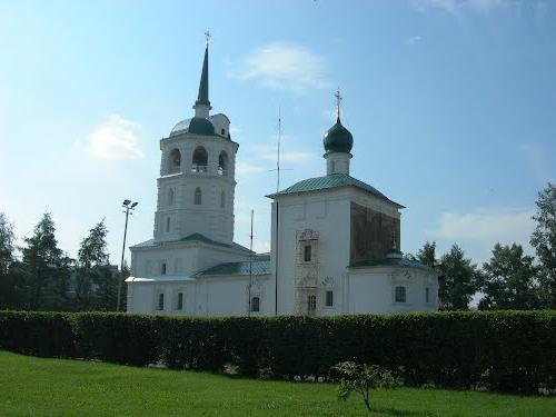 спасская церковь иркутск