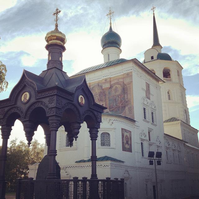 спасская церковь иркутск иркутская область россия
