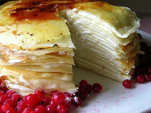 Рецепт бисквитного торта со сметанным кремом фото рецепт