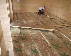 деревянное перекрытие в доме из газобетона своими руками