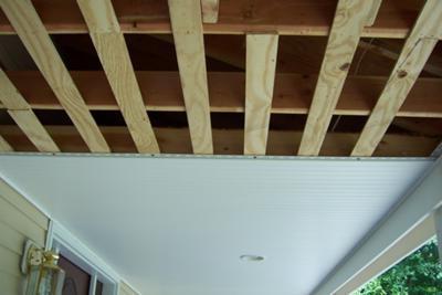 Установка панелей пвх на потолок