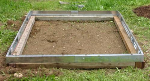 фундамент из бруса под теплицу из поликарбоната своими руками