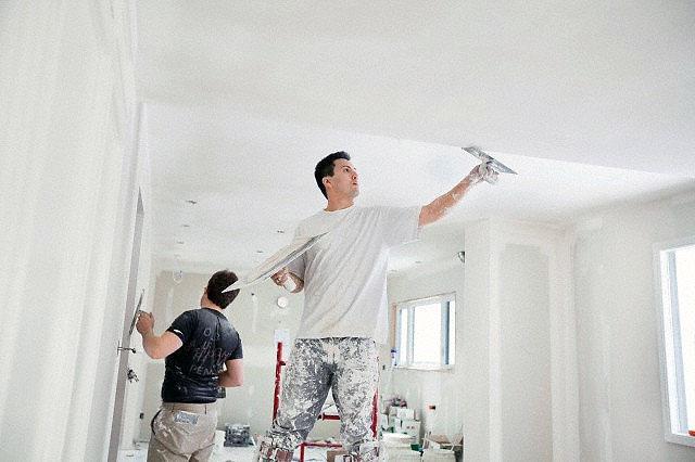 шпаклевка потолка из гипсокартона своими руками