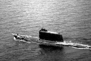 гибель подводной лодки 1968