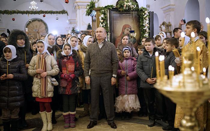 где отметить рождество в россии