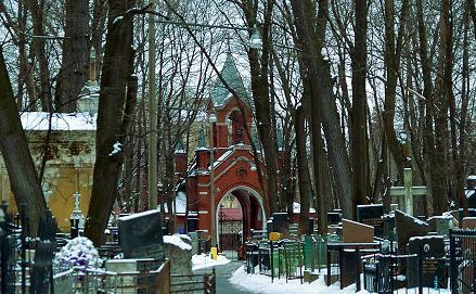 кладбище введенское