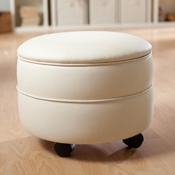 пуф с ящиком для хранения своими руками