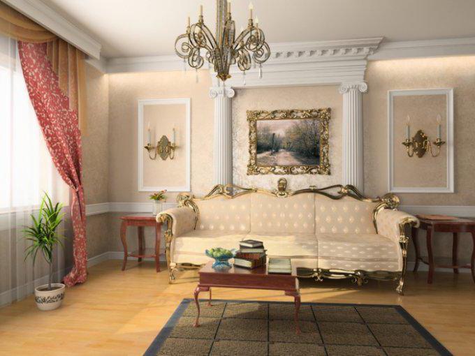 классические гостиные мебель фото