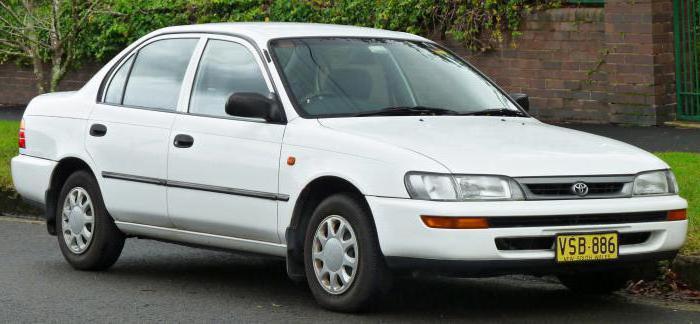 """""""Тойота"""" - модели серии """"Королла"""" (10 поколений)"""