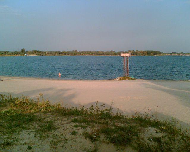 голубые озера днепродзержинск отдых