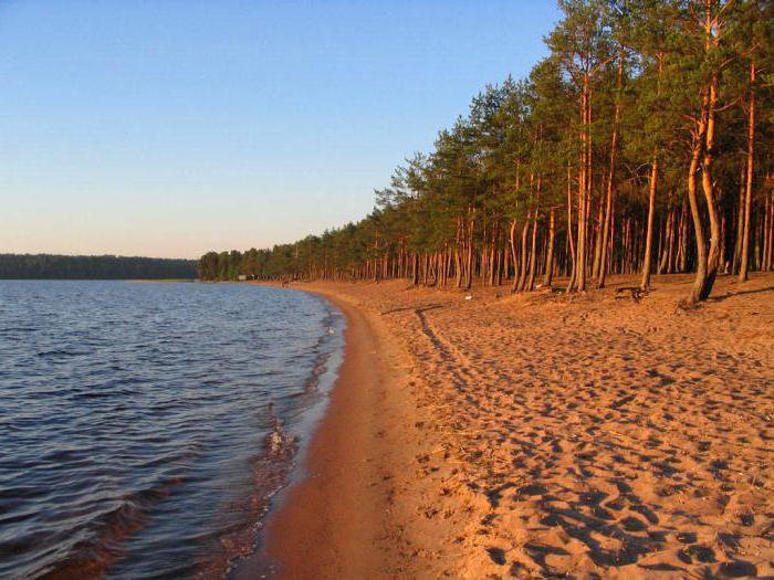 озеро глубокое ленинградская область как доехать