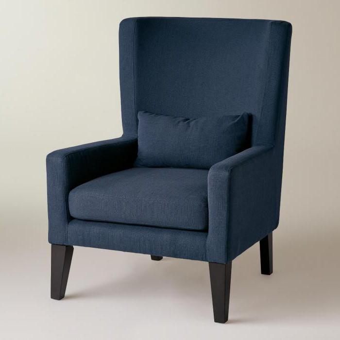 кресла для дома с высокой спинкой