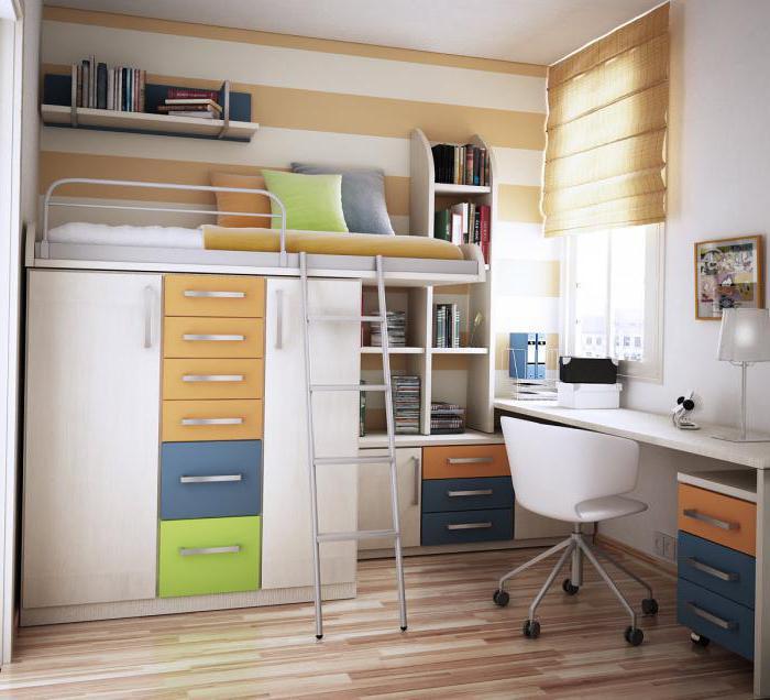 современная мебель для комнаты