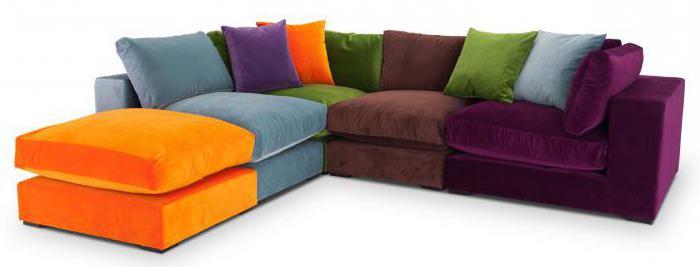 модный угловой диван