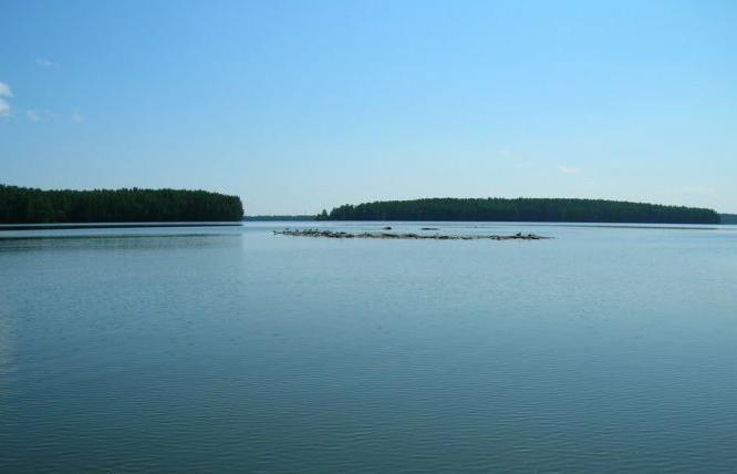 большой сунгуль озеро