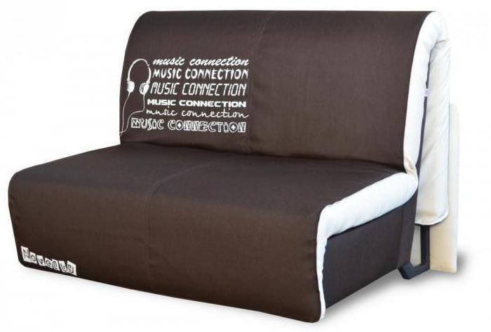 диван с механизмом аккордеон без подлокотников