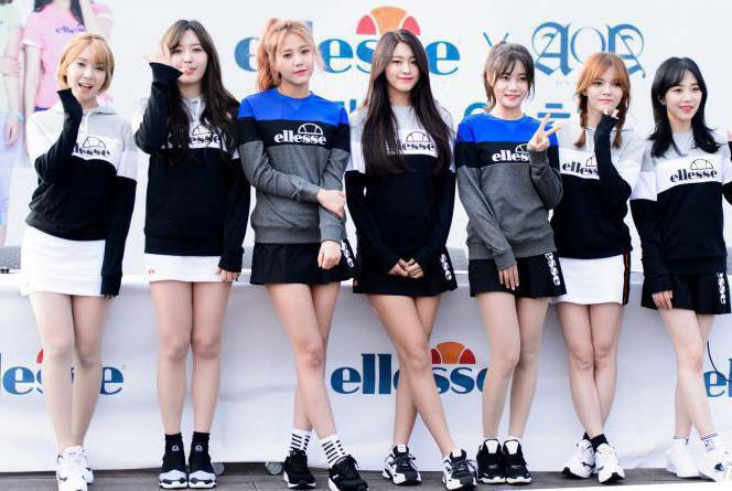 корейская группа aoa