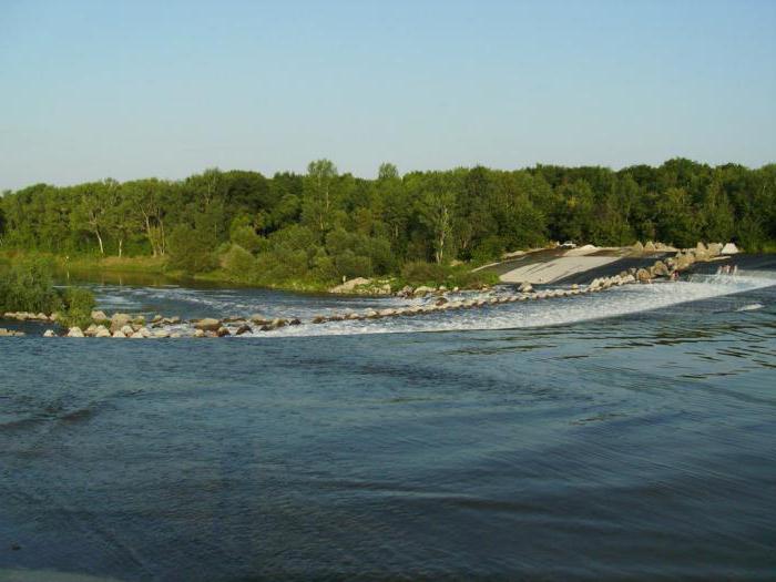 плотина на реке иргиз