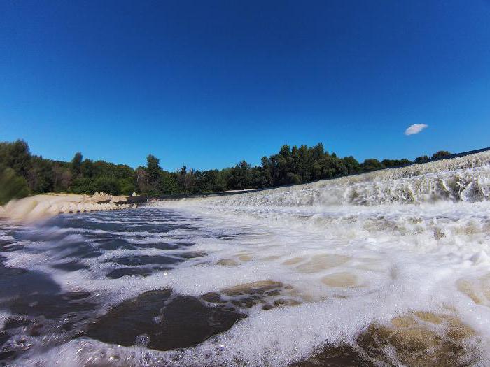 переливная река иргиз