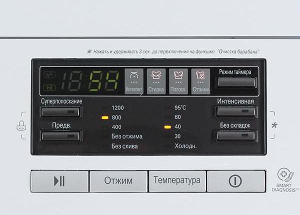 Модельный ряд стиральных машин LG: лучшие представители