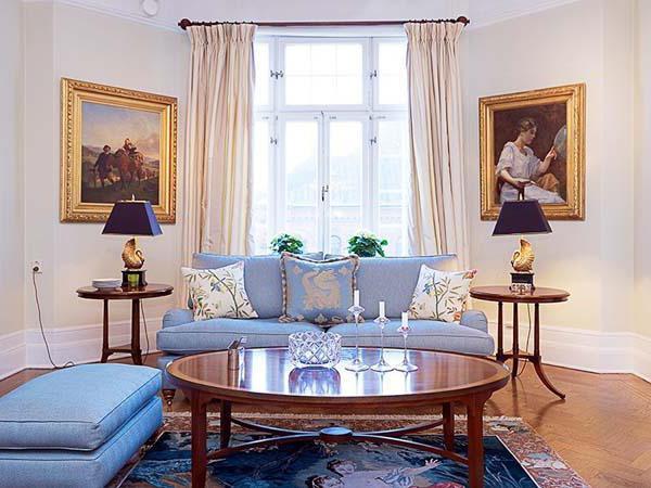 описание интерьера комнаты