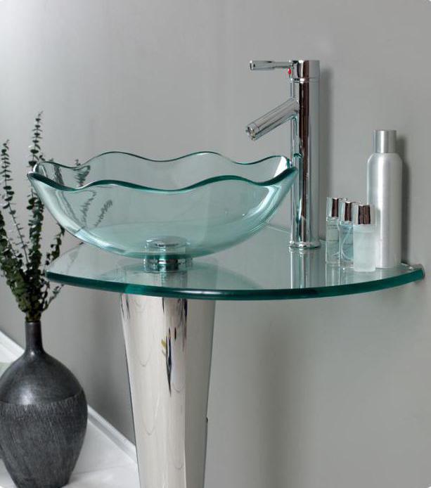 стеклянная раковина