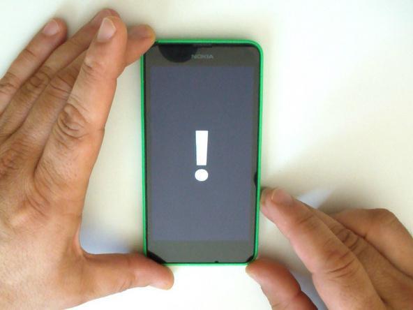 как перезагрузить телефон нокиа люмия